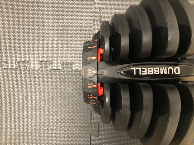 可変式ダンベル 40kg